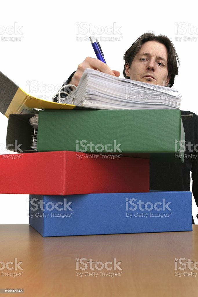 Documents and more... royalty-free stock photo