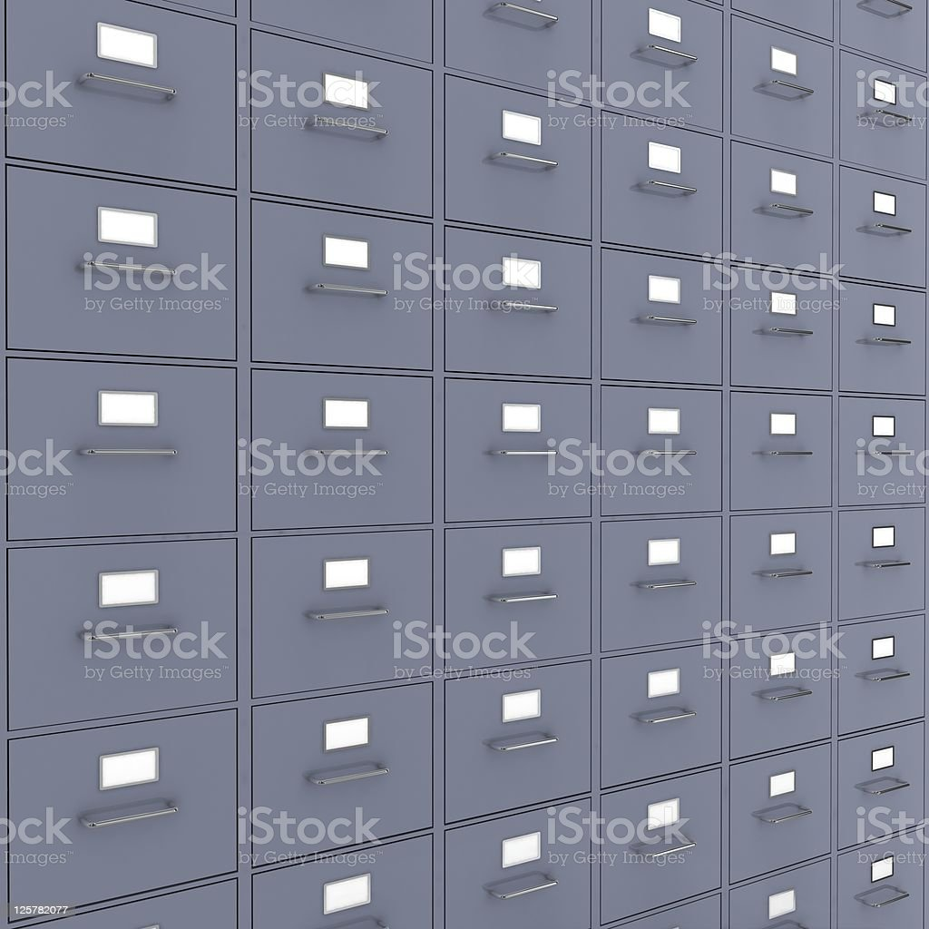 Documents Archive royalty-free stock photo