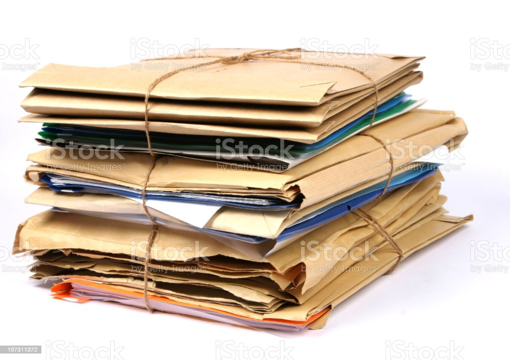 Documents royalty-free stock photo