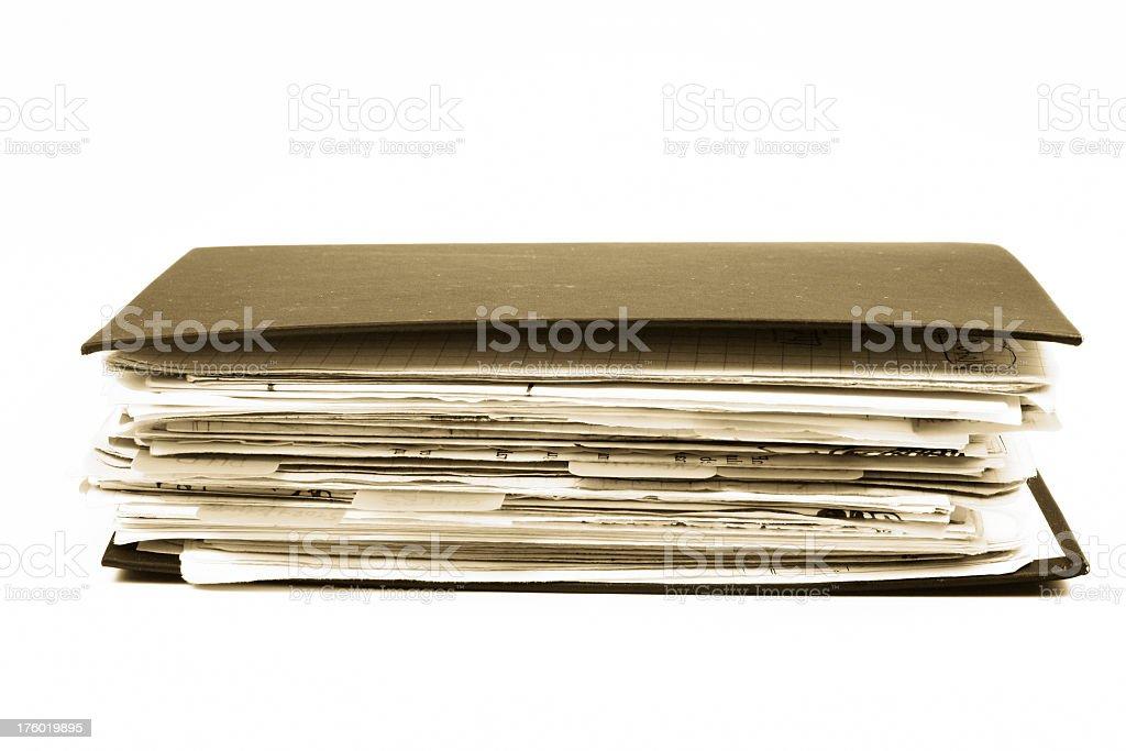 Documents royalty-free stock photo