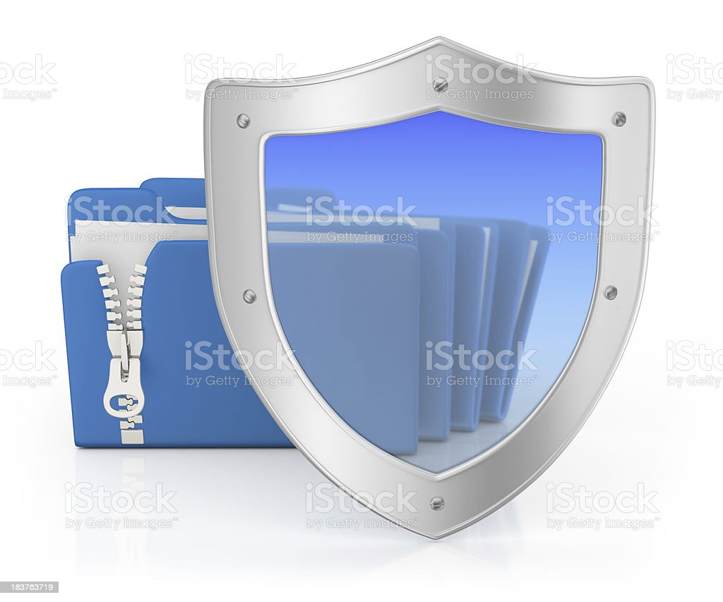 Documents Protection royalty-free stock photo