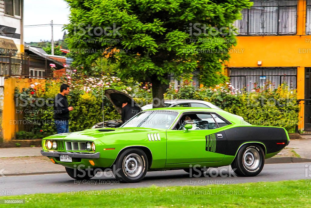 Dodge Challenger stock photo