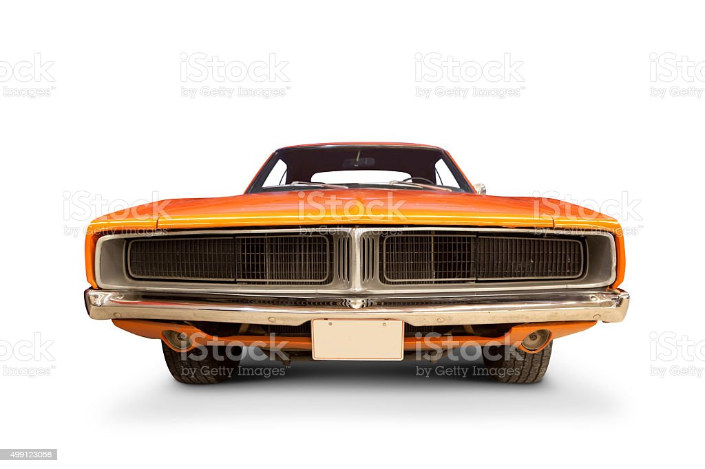 Dodge Charger 1969. stock photo