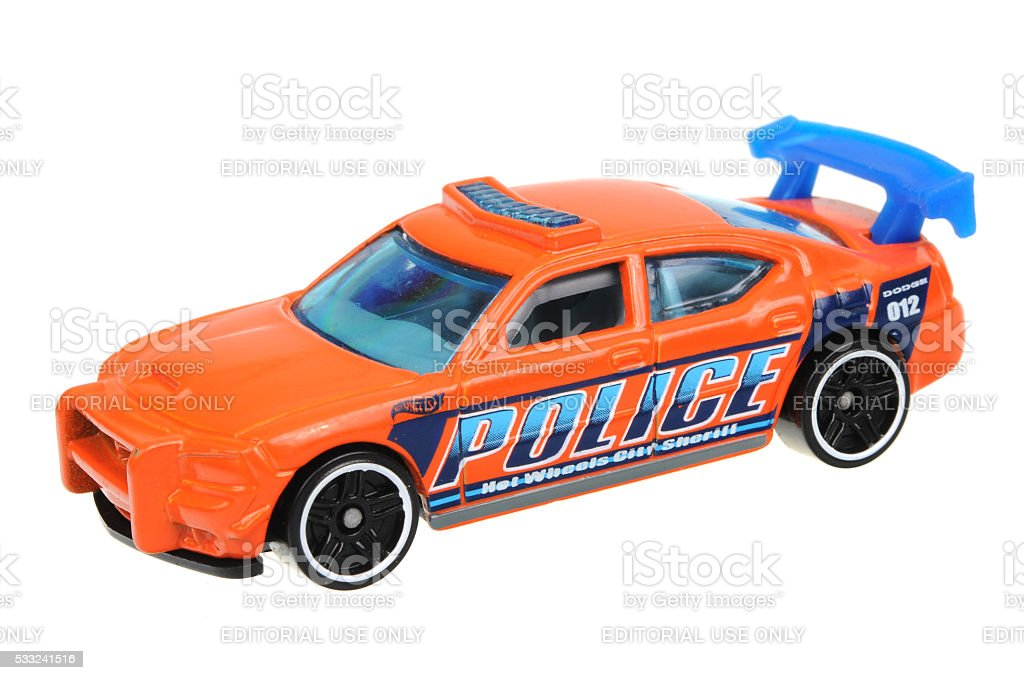 2009 Dodge Charger Drift Hot Wheels Diecast Toy Car stock photo
