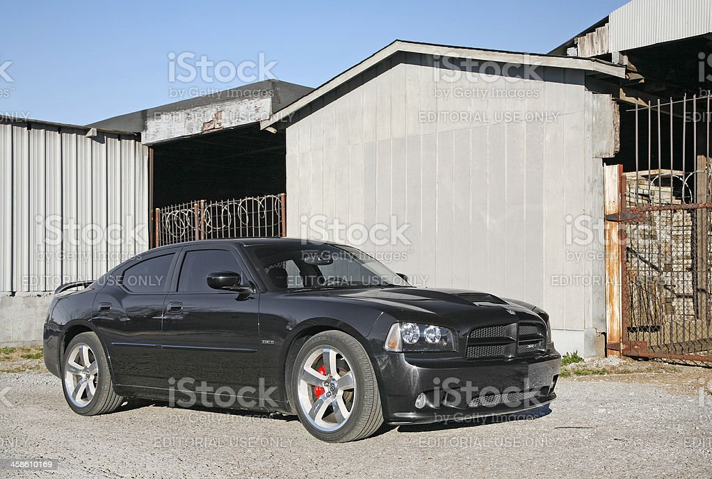 Dodge Charger royalty-free stock photo
