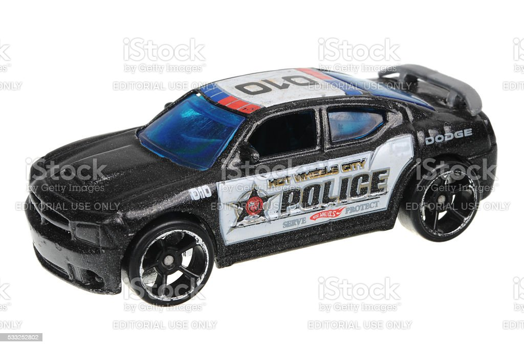 2006 Dodge Charger SRT8 Hot Wheels Diecast Toy Car stock photo