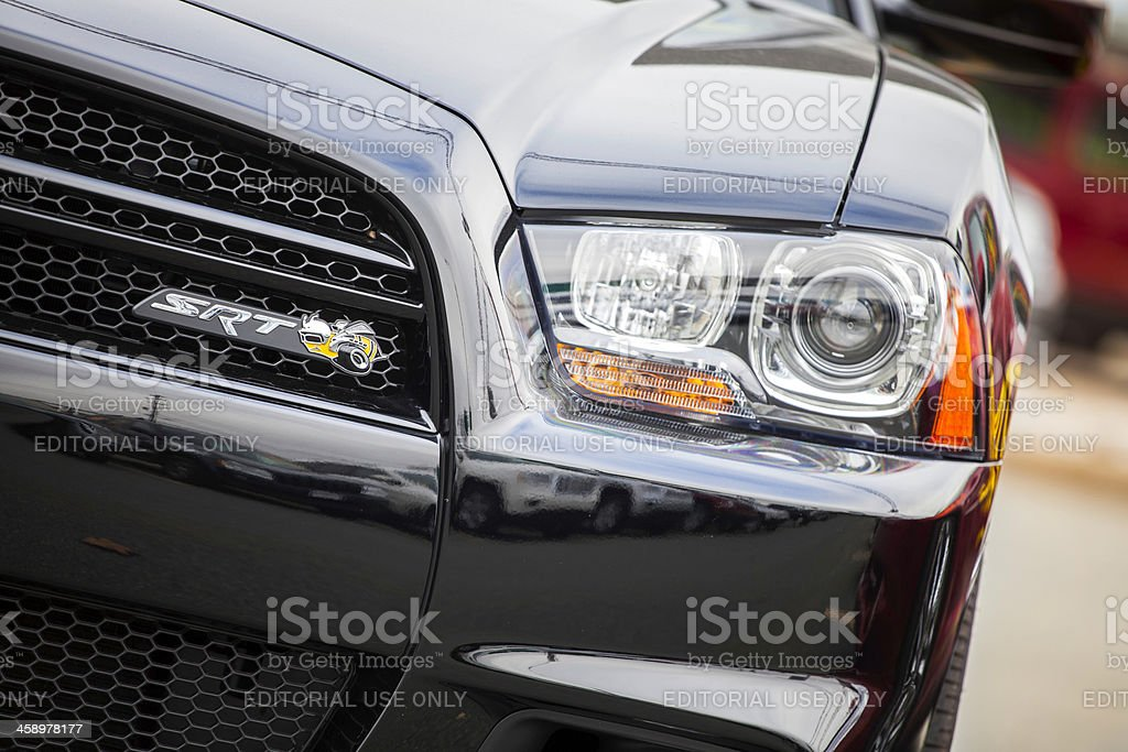 Dodge Charger SRT8 Superbee stock photo