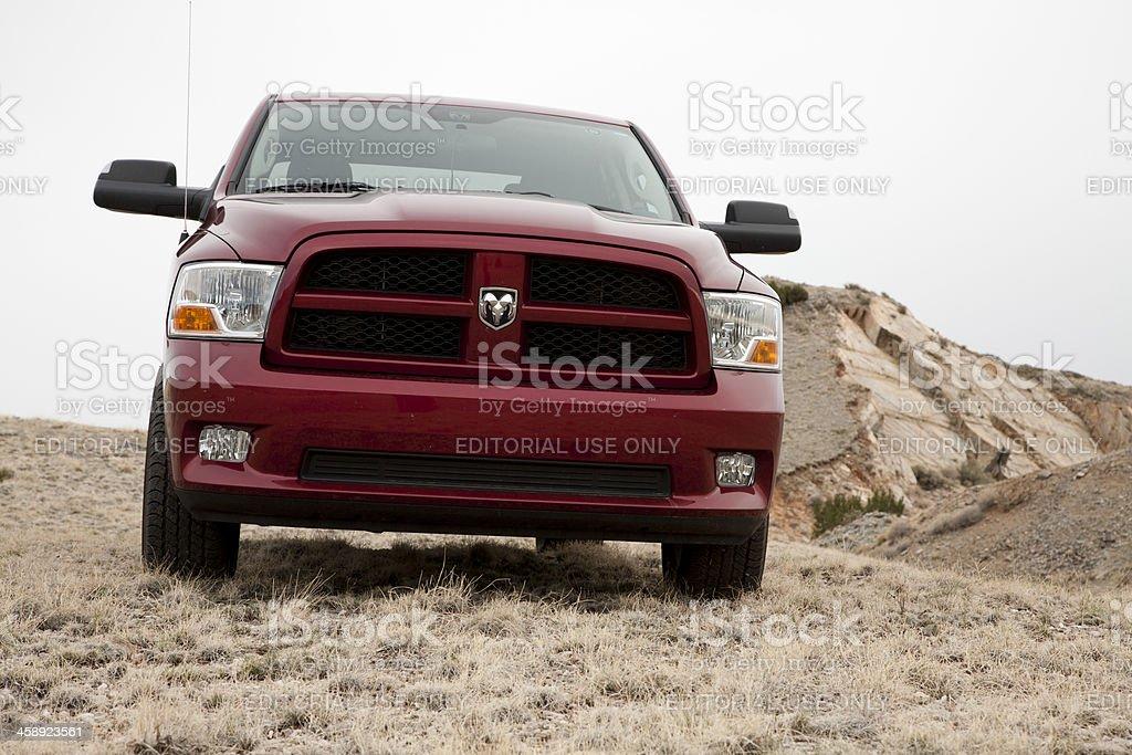 Dodge Ram 1500 Express Truck 2012 with Hemi stock photo