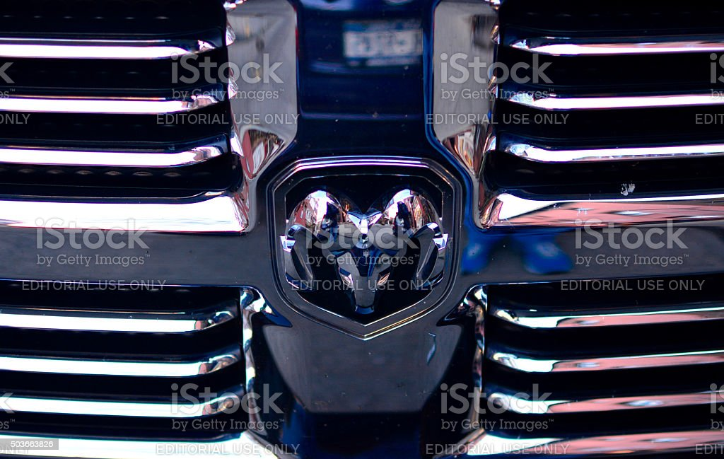 Dodge Ram 1500 stock photo