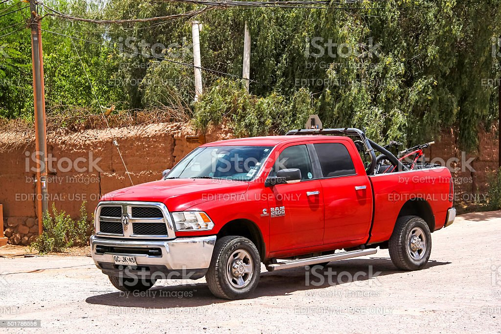 Dodge Ram 2500 stock photo