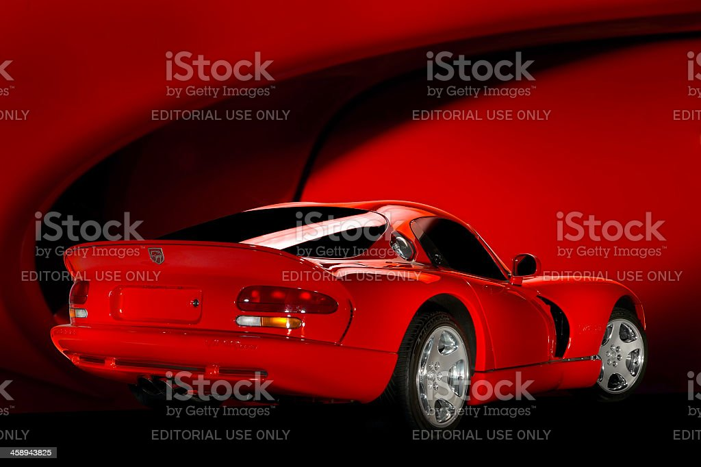 Dodge Viper GTS stock photo