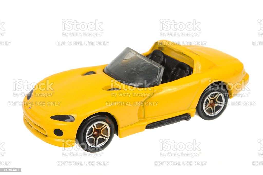 1994 Dodge Viper RT 10 Matchbox Diecast Toy Car stock photo