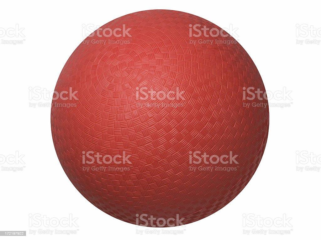 Dodgeball royalty-free stock photo