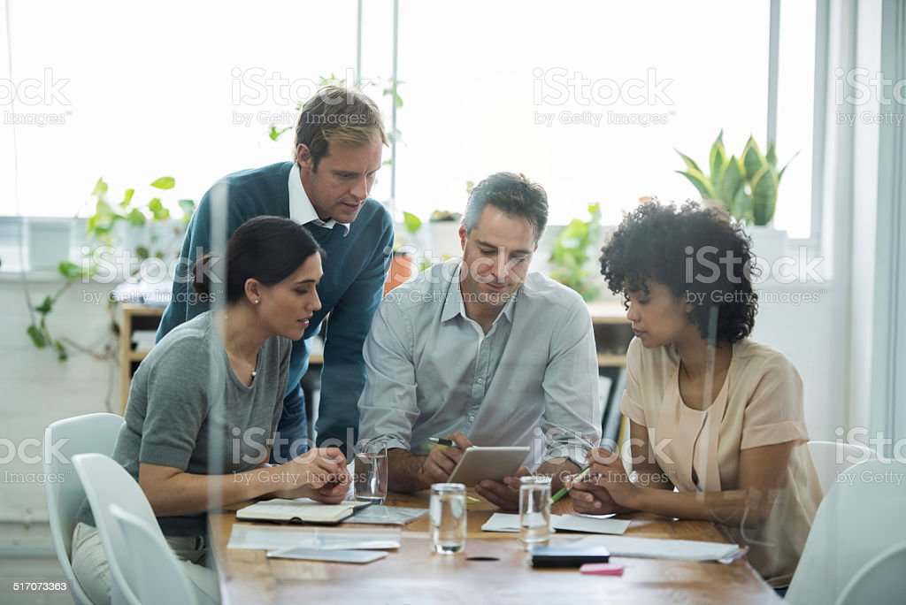 Does everyone understand? stock photo