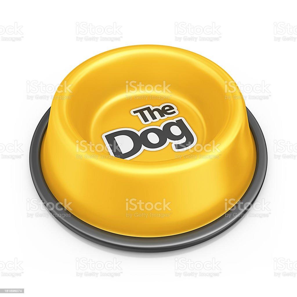 dog bowl royalty-free stock photo