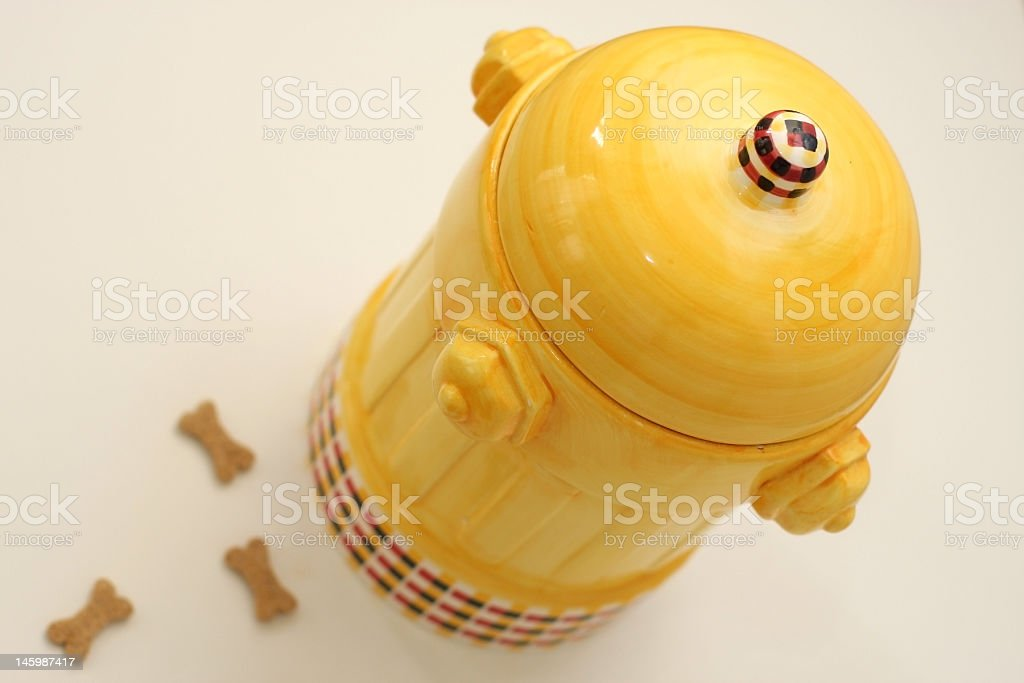 Dog Cookie Jar royalty-free stock photo