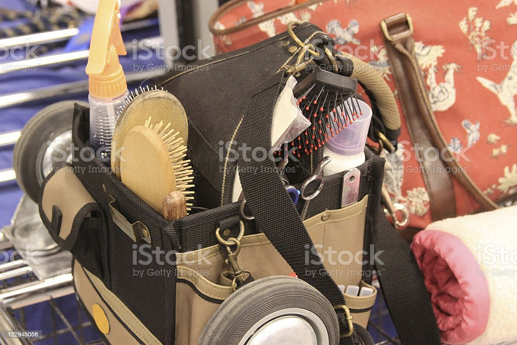 Dog Grooming Tools stock photo