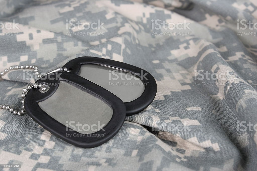 Dog Tags royalty-free stock photo