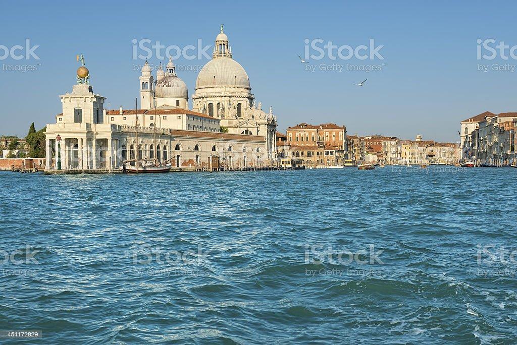 Dogana di Mare e Santa Maria Della Salute (Venezia) royalty-free stock photo