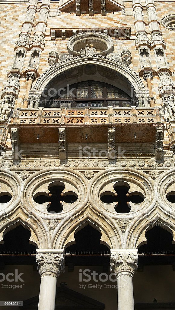 Doge Palace in Venice royalty-free stock photo
