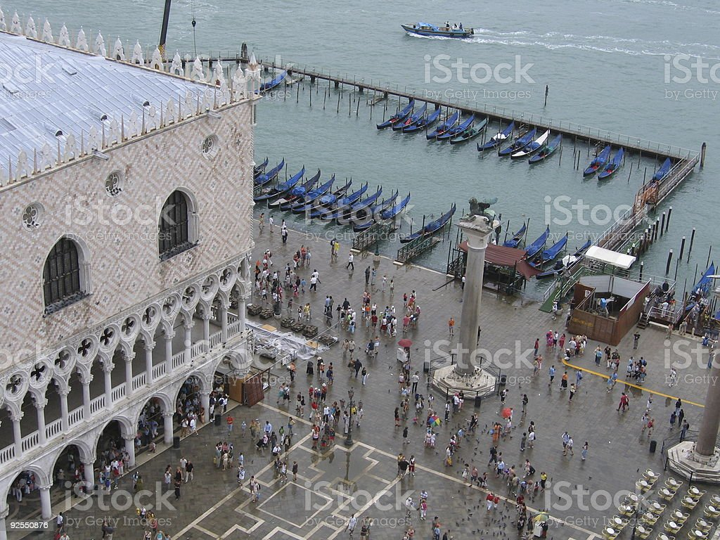Doge´s Palace and St. Mark´s Square royalty-free stock photo