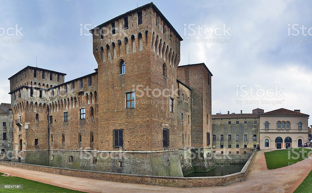 Palazzo Ducale, Mantova, Italy royalty-free stock photo