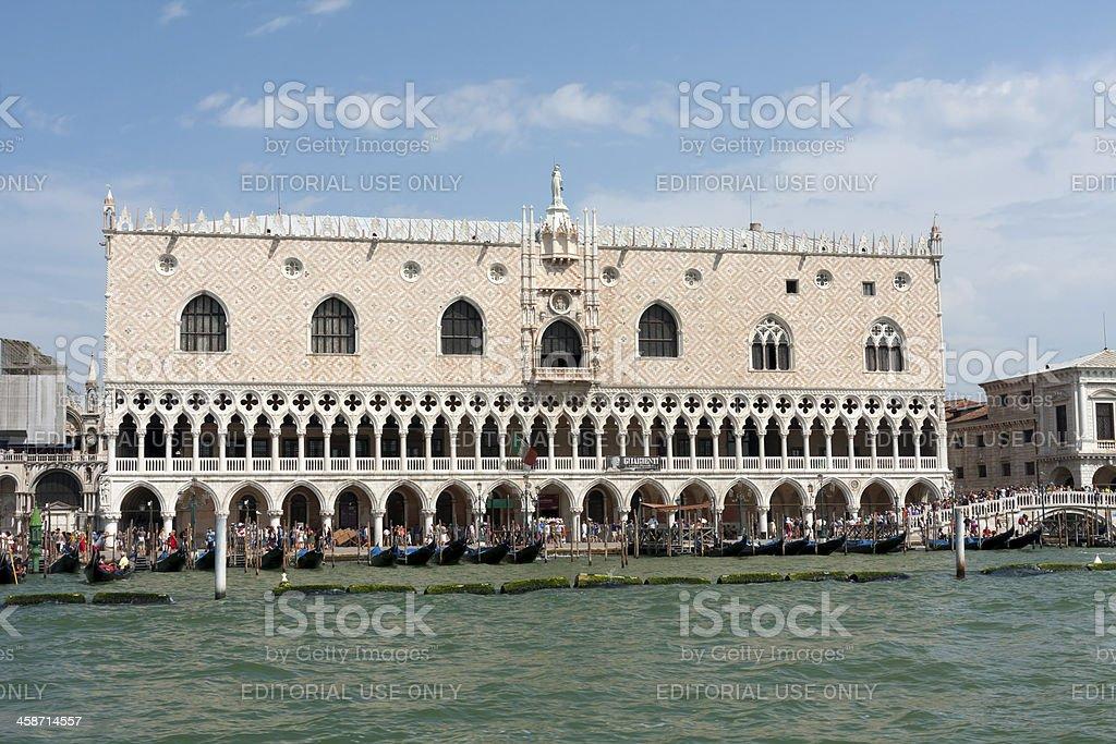 Doges Palace royalty-free stock photo