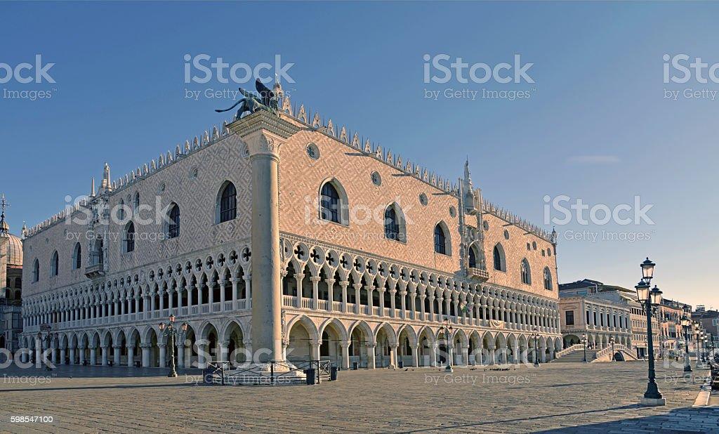 Doge's Palace San Marco Venice stock photo