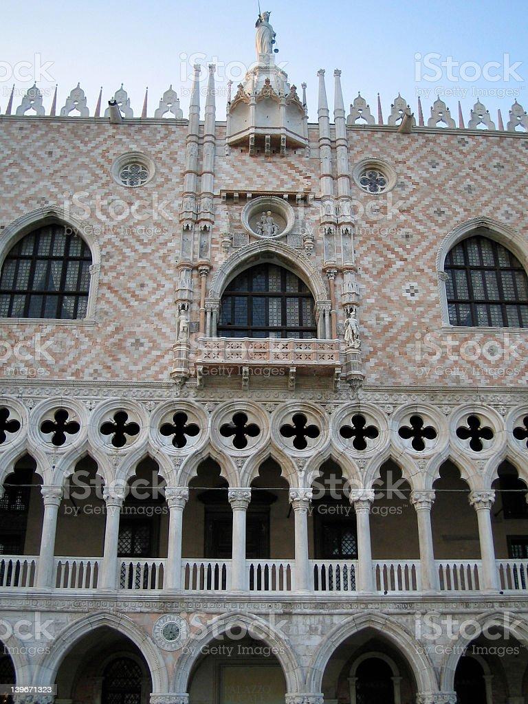Doge's Palace, Venice royalty-free stock photo