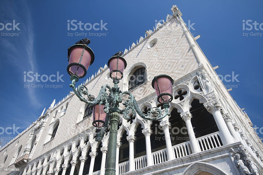 Doge's Palace (Palazzo Ducale), Venice royalty-free stock photo