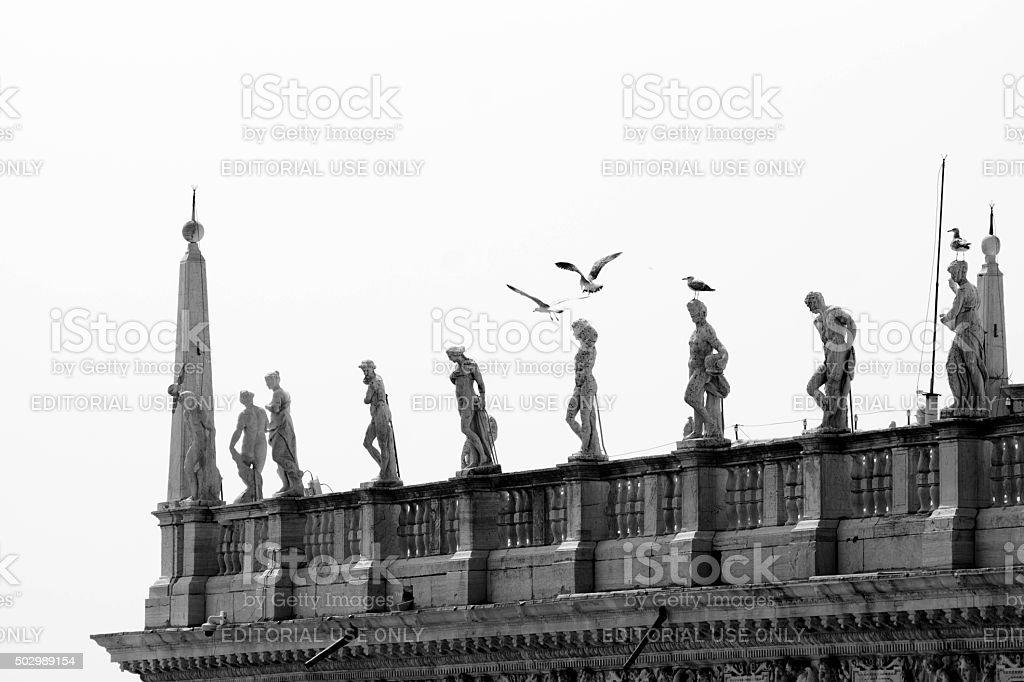 Doge's Palace Venice stock photo