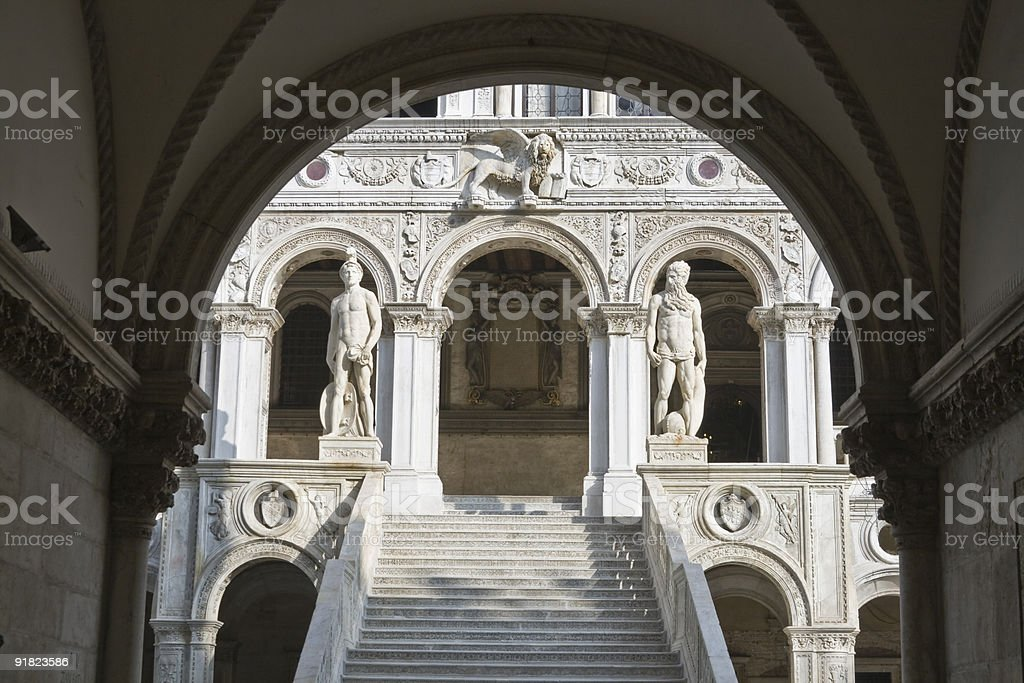 Doge's palace, Venice royalty-free stock photo