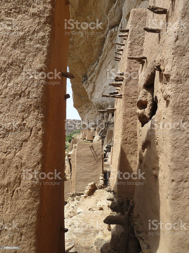 Dogon Country in Mali, West Africa stock photo