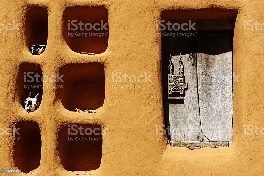 Dogon house royalty-free stock photo