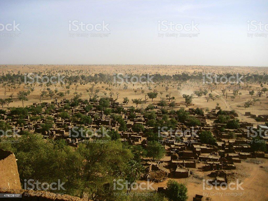 Dogon village in Mali stock photo
