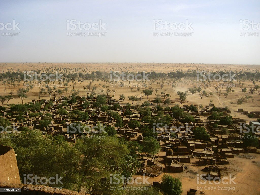 Dogon village in Mali stock photo