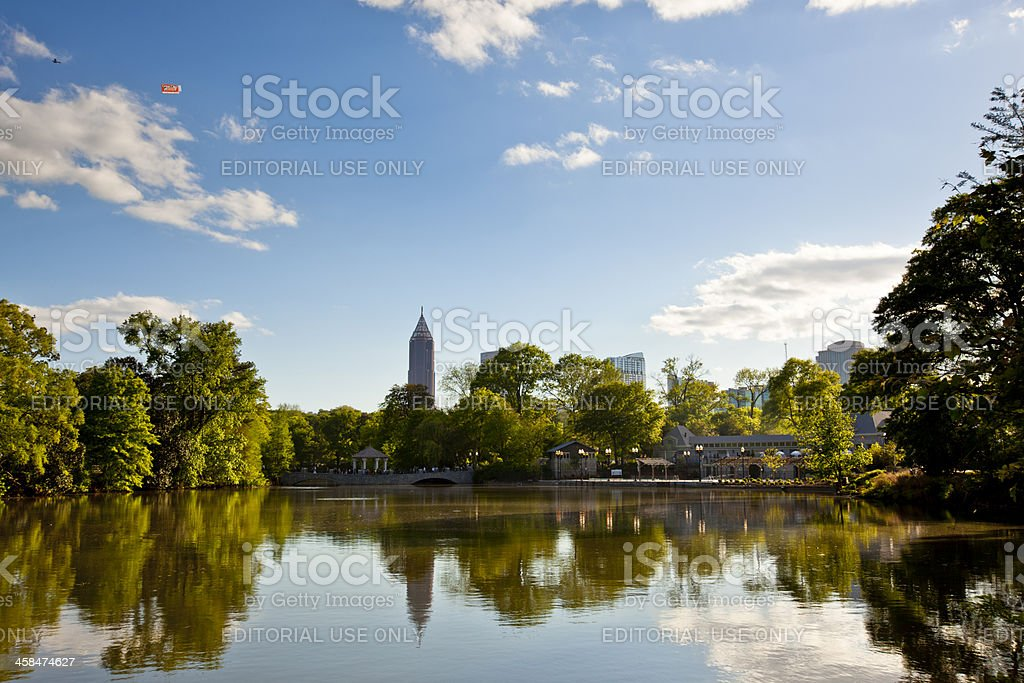 Dogwood Festival in Atlanta stock photo