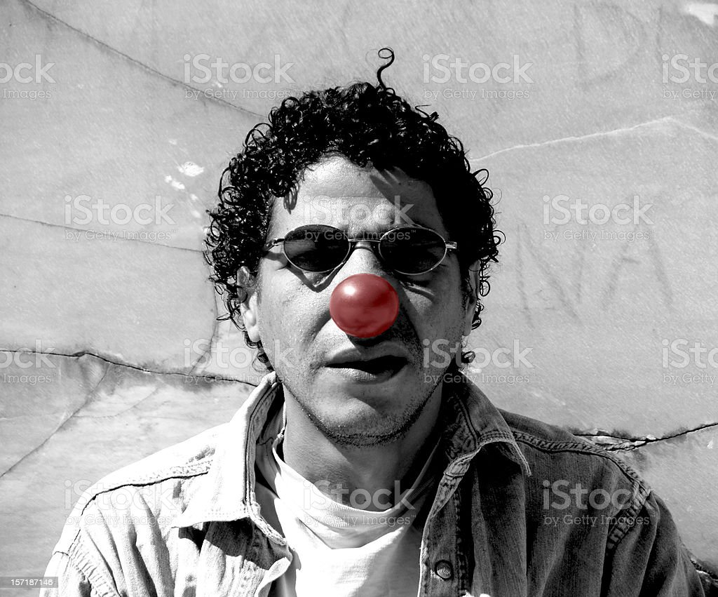 Doh - Who is the Clown? royalty-free stock photo