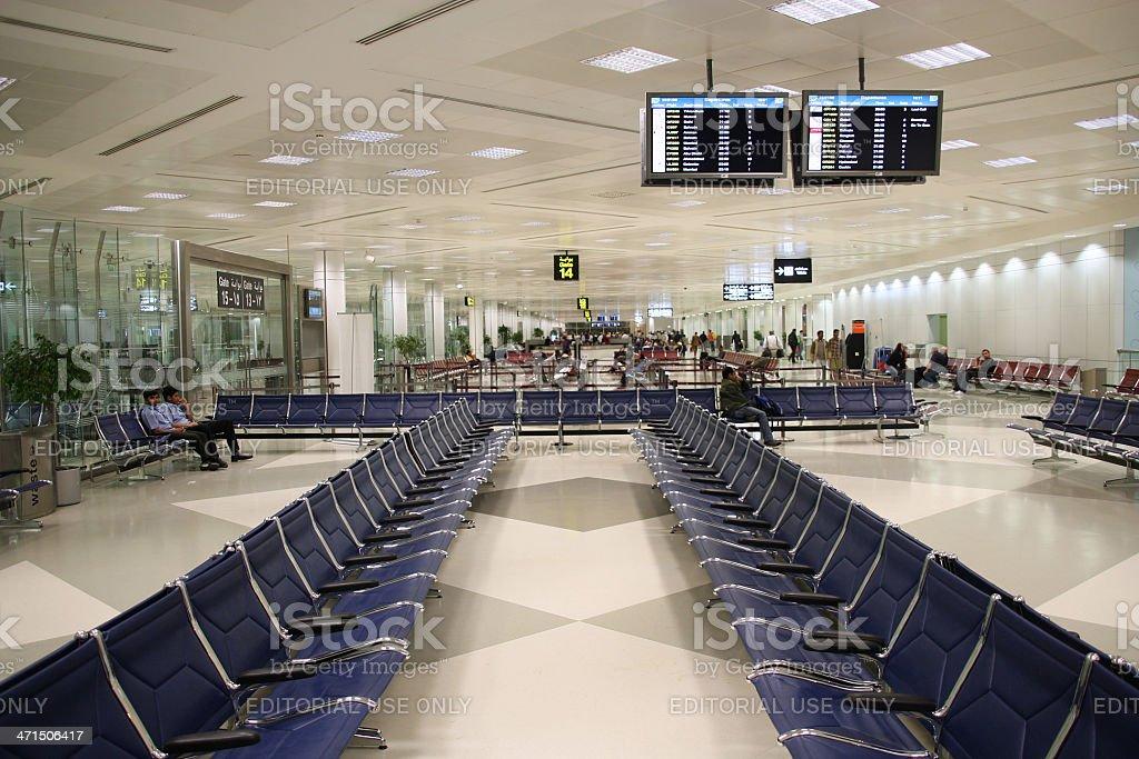 Doha airport, Qatar royalty-free stock photo