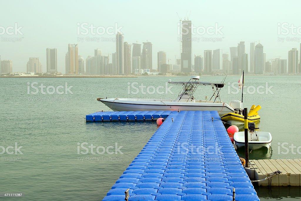 Doha royalty-free stock photo