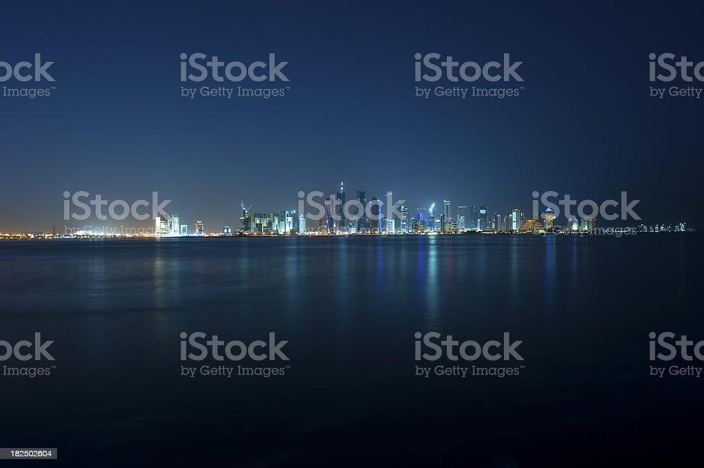 Doha, Qatar royalty-free stock photo