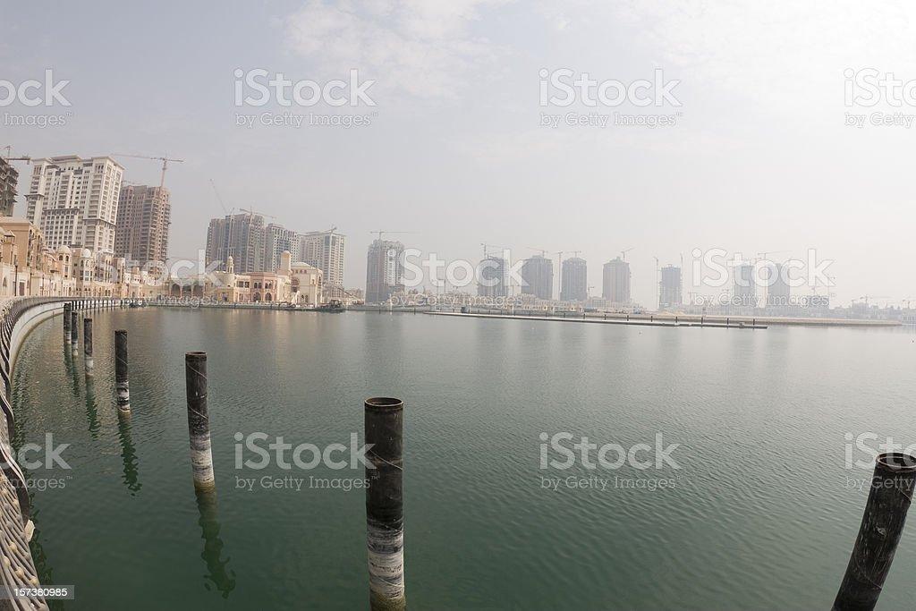 Doha: The Pearl royalty-free stock photo