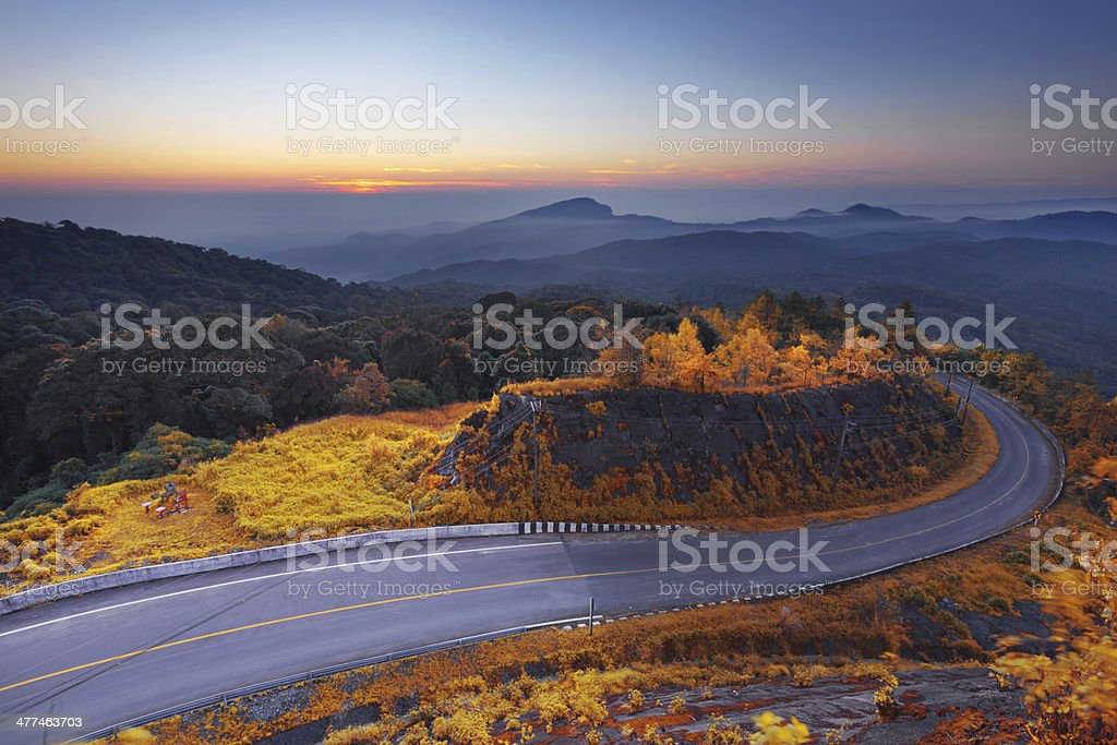 Doi Inthanon National park Lizenzfreies stock-foto