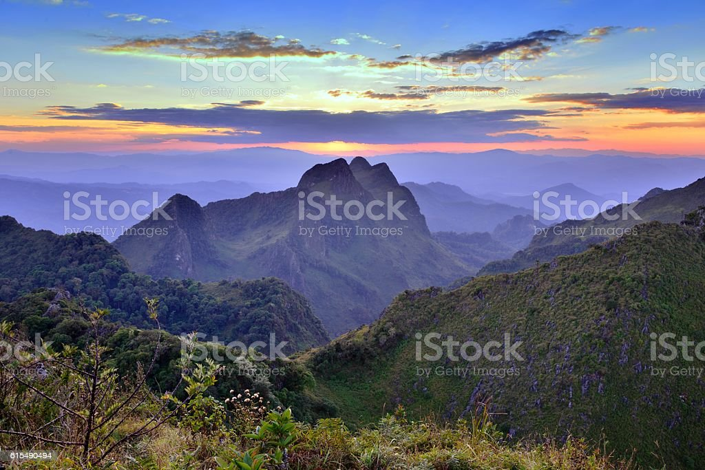 Doi Luang Chiang Dao stock photo