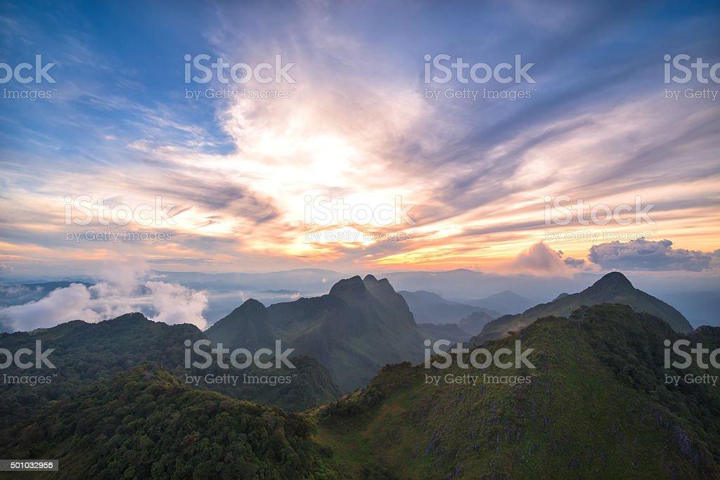 Doi Luang Chiang Dao Province Chiang Mai stock photo
