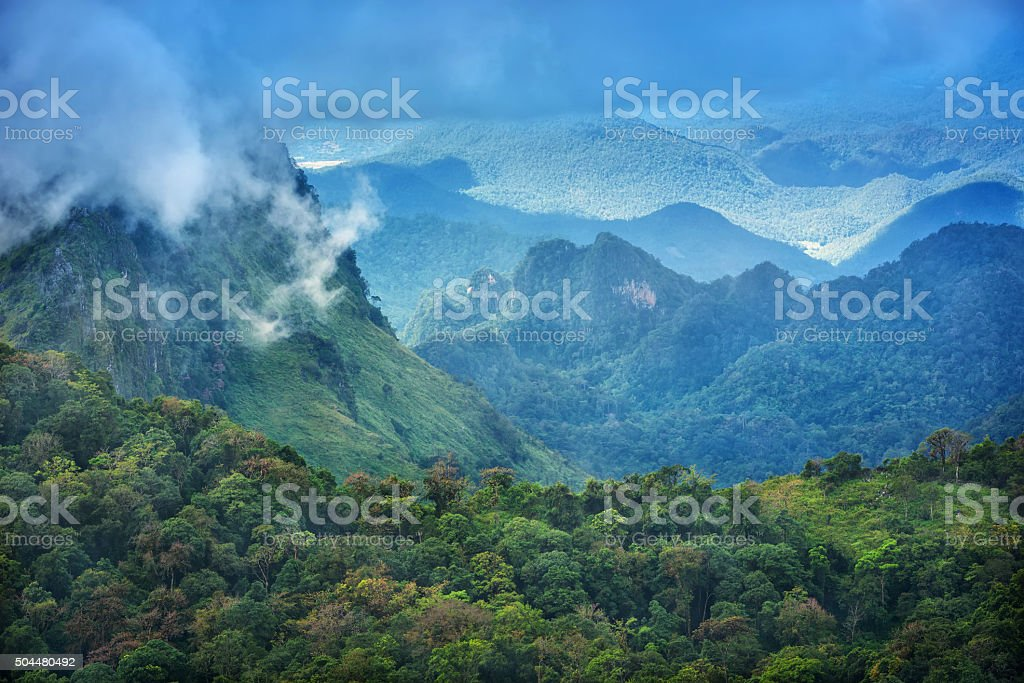 Doi Luang Chiang Dao Province Chiang Mai stock photo