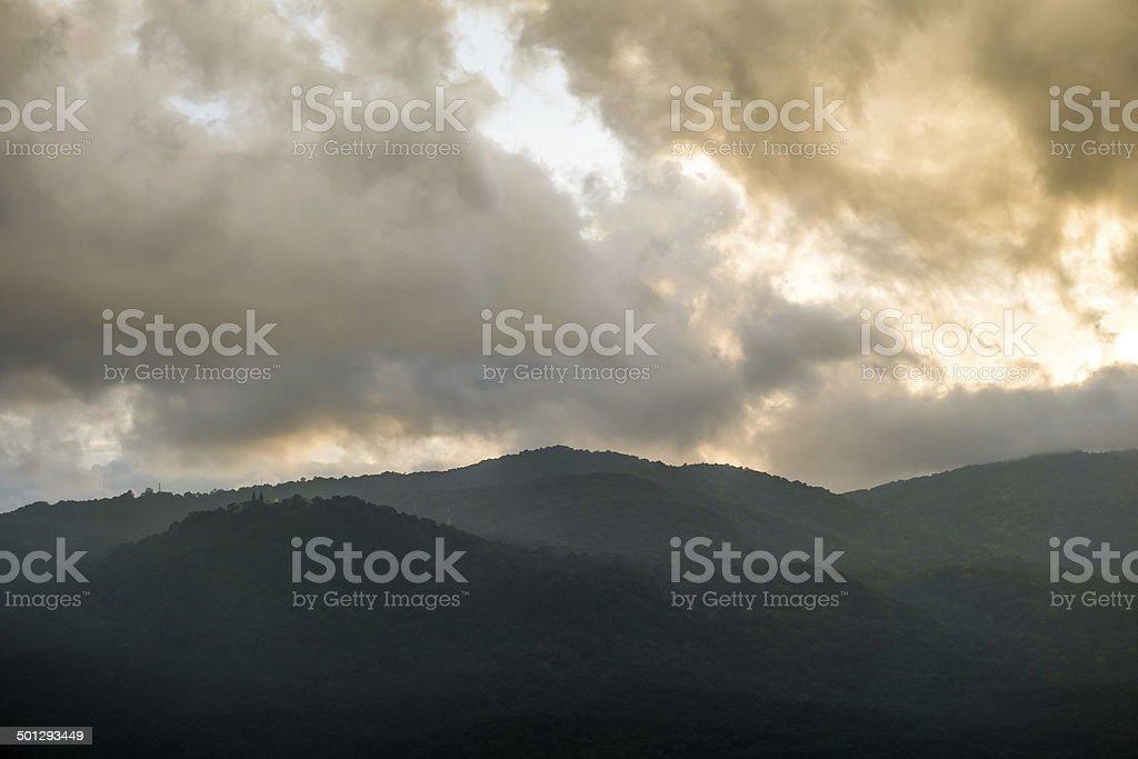 Doi Suthep mountain - Chiangmai, Thailand royalty-free stock photo