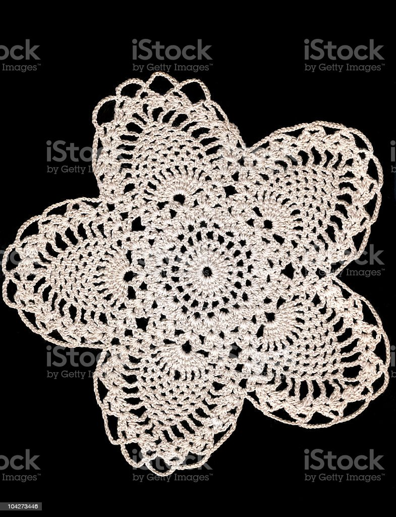 Doily Background royalty-free stock photo