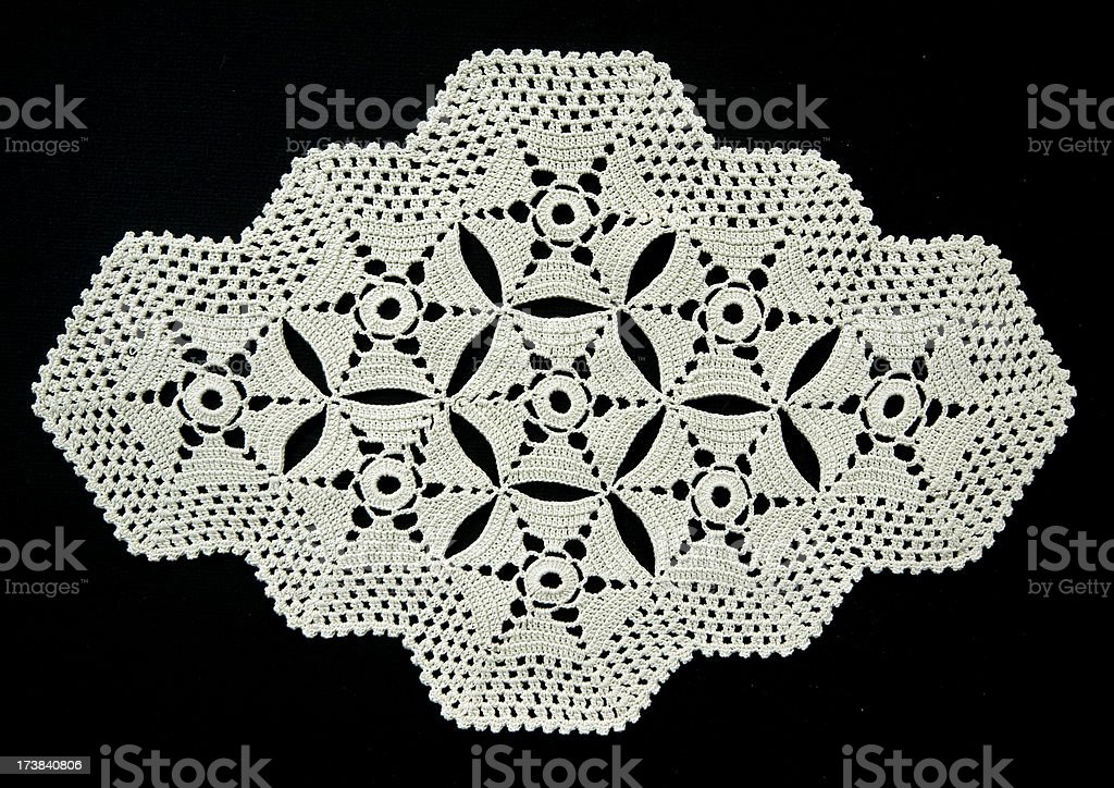 Doily royalty-free stock photo