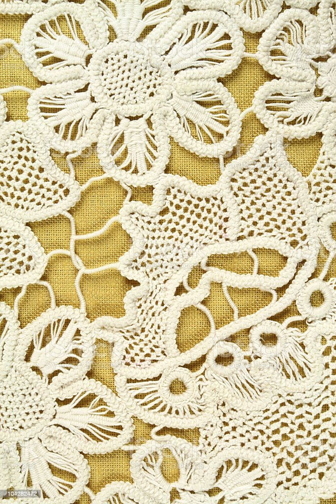 Doily texture royalty-free stock photo